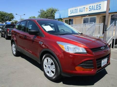 2016 Ford Escape for sale at Salem Auto Sales in Sacramento CA