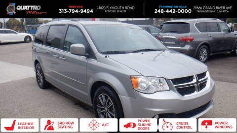 2017 Dodge Grand Caravan for sale at Quattro Motors 2 - 1 in Redford MI