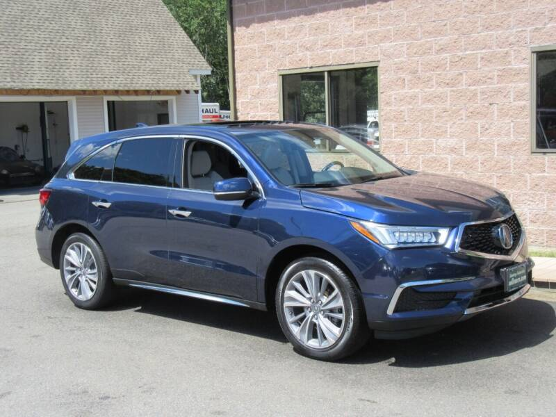 2017 Acura MDX for sale at Advantage Automobile Investments, Inc in Littleton MA