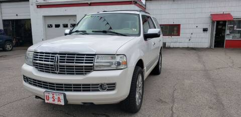 2009 Lincoln Navigator for sale at Union Street Auto in Manchester NH