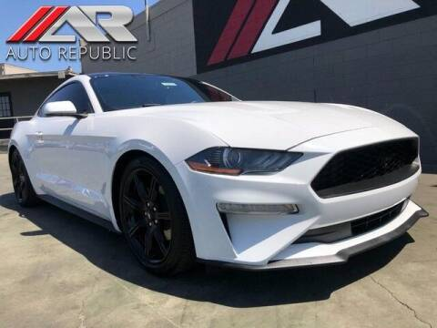 2020 Ford Mustang for sale at Auto Republic Fullerton in Fullerton CA