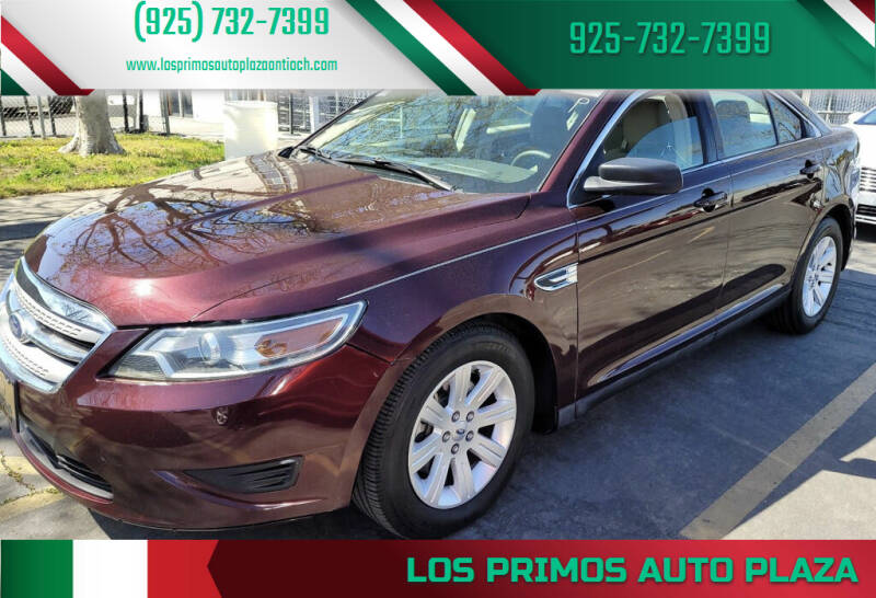 2011 Ford Taurus for sale at Los Primos Auto Plaza in Antioch CA