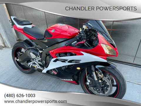 2009 Yamaha YZF-R6 for sale at Chandler Powersports in Chandler AZ
