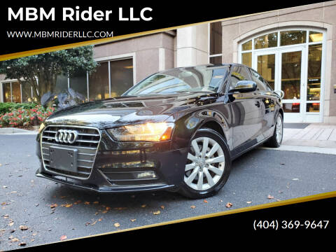 2014 Audi A4 for sale at MBM Rider LLC in Alpharetta GA
