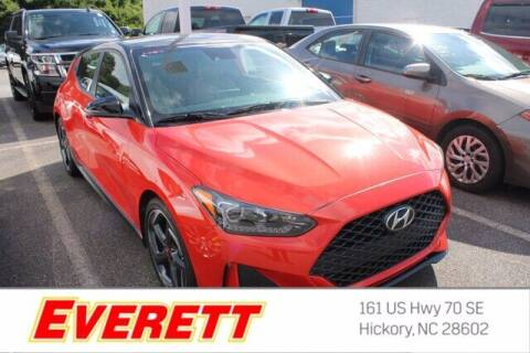 2019 Hyundai Veloster for sale at Everett Chevrolet Buick GMC in Hickory NC