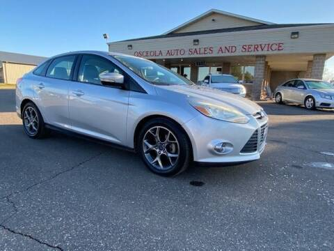 2013 Ford Focus for sale at Osceola Auto Sales and Service in Osceola WI