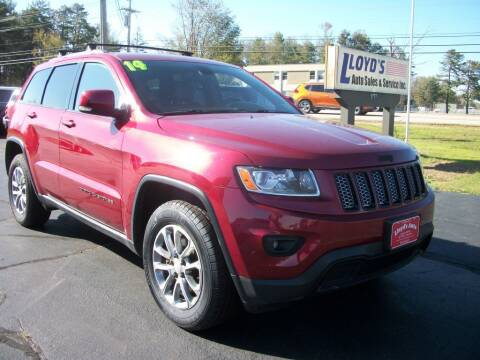 2014 Jeep Grand Cherokee for sale at Lloyds Auto Sales & SVC in Sanford ME