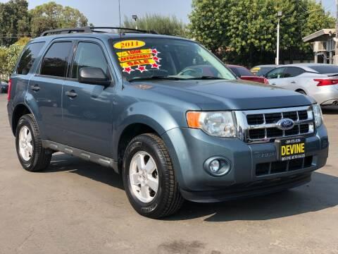 2011 Ford Escape for sale at Devine Auto Sales in Modesto CA