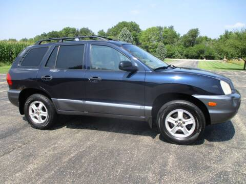2004 Hyundai Santa Fe for sale at Crossroads Used Cars Inc. in Tremont IL