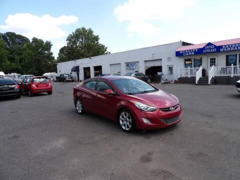 2013 Hyundai Elantra for sale at United Auto Land in Woodbury NJ
