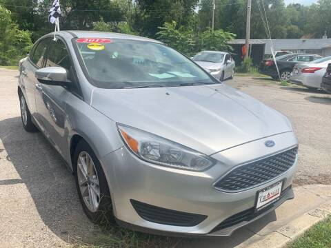 2017 Ford Focus for sale at Triangle Auto Sales in Omaha NE