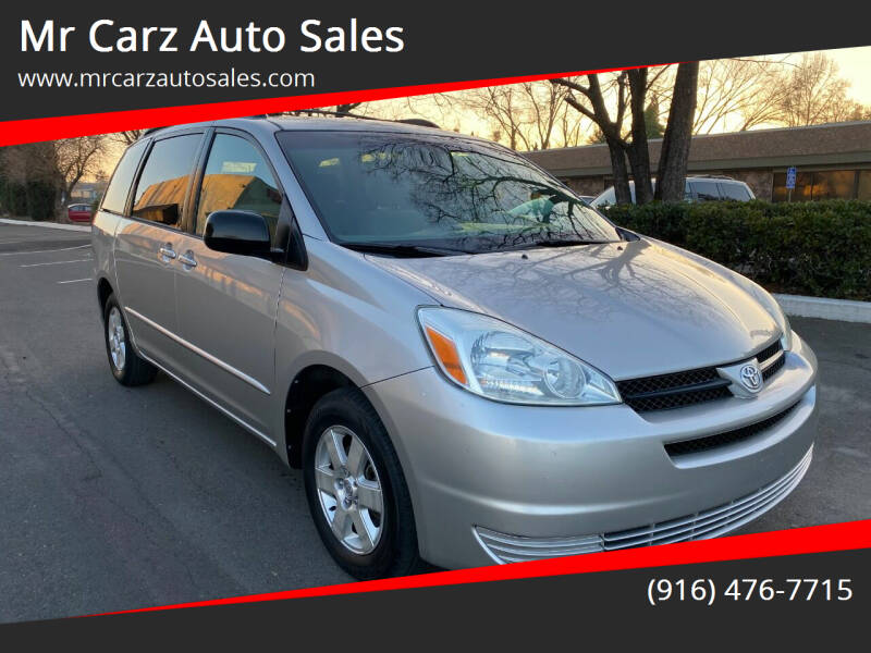 2004 Toyota Sienna for sale at Mr Carz Auto Sales in Sacramento CA