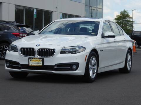 2015 BMW 5 Series for sale at Loudoun Used Cars - LOUDOUN MOTOR CARS in Chantilly VA