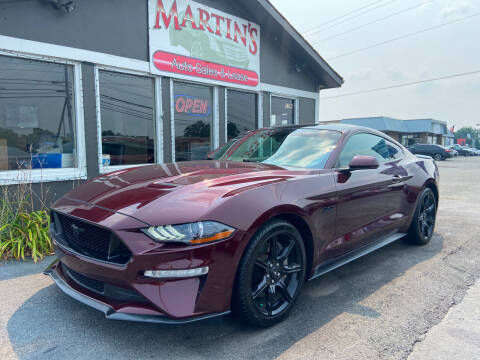 2018 Ford Mustang for sale at Martins Auto Sales in Shelbyville KY