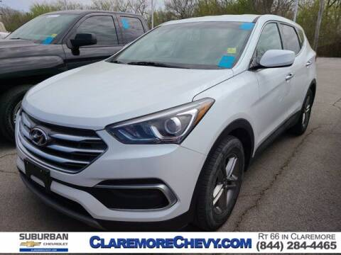 2018 Hyundai Santa Fe Sport for sale at Suburban Chevrolet in Claremore OK