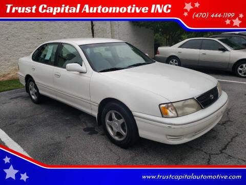 1999 Toyota Avalon for sale at Trust Capital Automotive Inc. in Covington GA