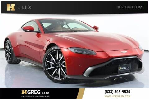 2020 Aston Martin Vantage for sale at HGREG LUX EXCLUSIVE MOTORCARS in Pompano Beach FL