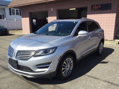 2015 Lincoln MKC for sale at Pat's Auto Sales, Inc. in West Springfield MA
