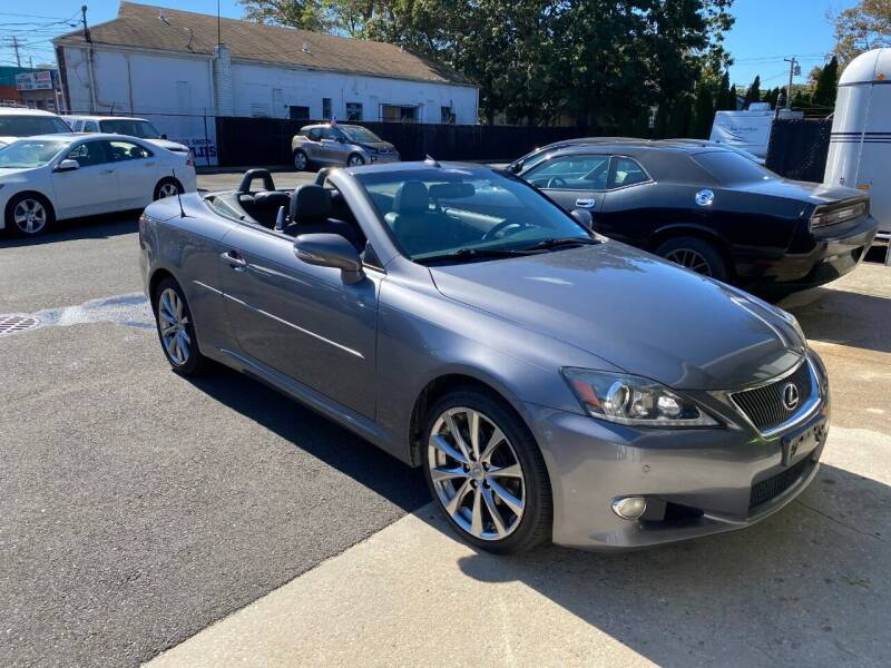 2013 Lexus IS 250C for sale at QUALITY AUTO SALES OF NEW YORK in Medford NY