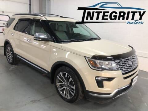 2018 Ford Explorer for sale at Integrity Motors, Inc. in Fond Du Lac WI