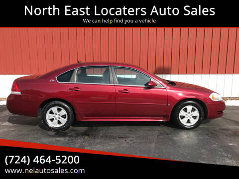 2009 Chevrolet Impala for sale at North East Locaters Auto Sales in Indiana PA