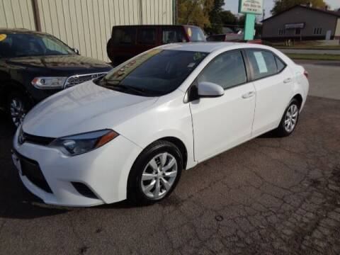 2016 Toyota Corolla for sale at De Anda Auto Sales in Storm Lake IA