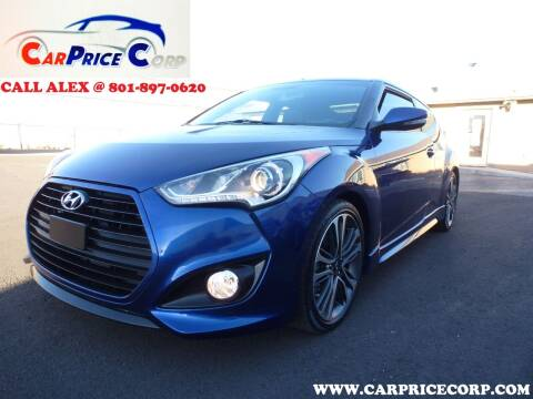 2017 Hyundai Veloster for sale at CarPrice Corp in Murray UT