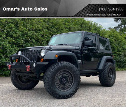 2012 Jeep Wrangler for sale at Omar's Auto Sales in Martinez GA