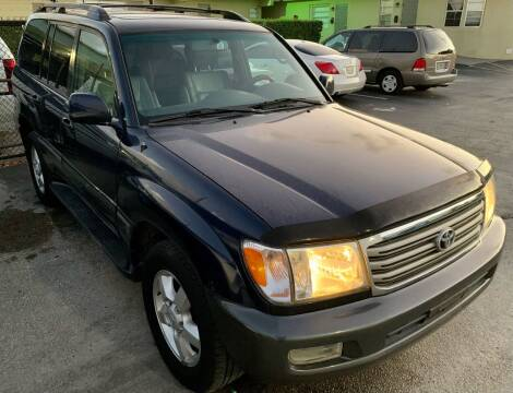 2004 Toyota Land Cruiser for sale at Naber Auto Trading in Hollywood FL