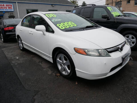 2006 Honda Civic for sale at M & R Auto Sales INC. in North Plainfield NJ