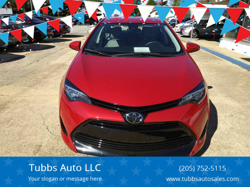 2018 Toyota Corolla for sale at Tubbs Auto LLC in Tuscaloosa AL