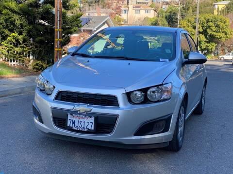 2015 Chevrolet Sonic for sale at ZaZa Motors in San Leandro CA