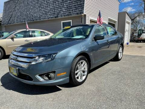 2012 Ford Fusion for sale at JK & Sons Auto Sales in Westport MA