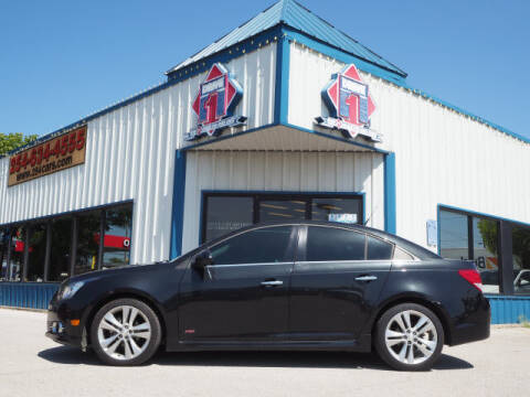 2014 Chevrolet Cruze for sale at DRIVE 1 OF KILLEEN in Killeen TX