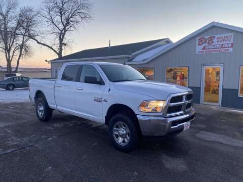 2017 RAM Ram Pickup 2500 for sale at B & B Auto Sales in Brookings SD