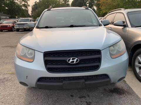 2008 Hyundai Santa Fe for sale at ALVAREZ AUTO SALES in Des Moines IA