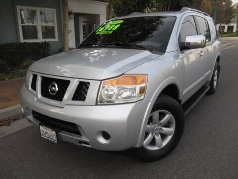 2012 Nissan Armada for sale at PREFERRED MOTOR CARS in Covina CA
