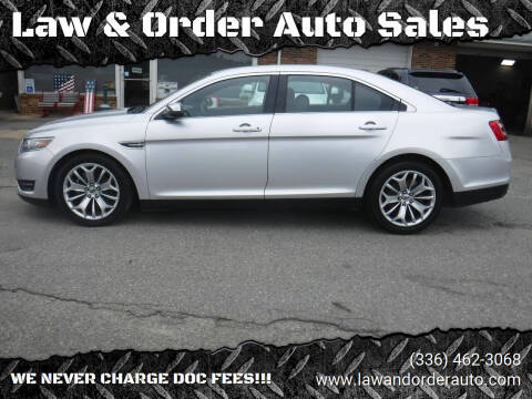2015 Ford Taurus for sale at Law & Order Auto Sales in Pilot Mountain NC