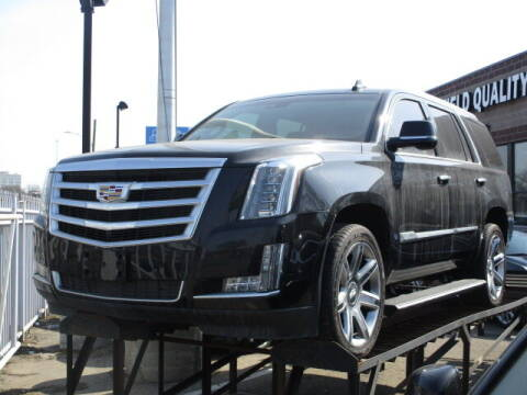 2017 Cadillac Escalade for sale at SOUTHFIELD QUALITY CARS in Detroit MI