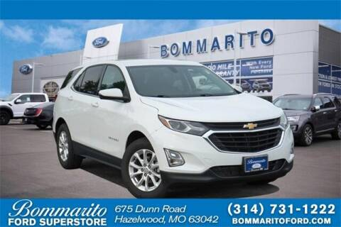 2018 Chevrolet Equinox for sale at NICK FARACE AT BOMMARITO FORD in Hazelwood MO