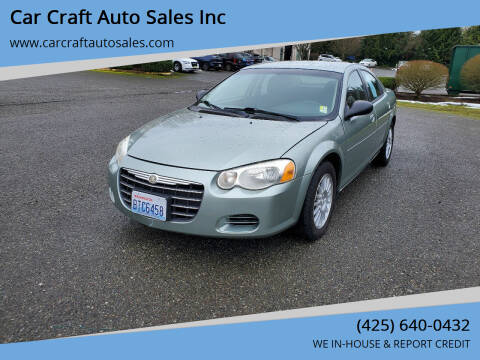 2006 Chrysler Sebring for sale at Car Craft Auto Sales Inc in Lynnwood WA