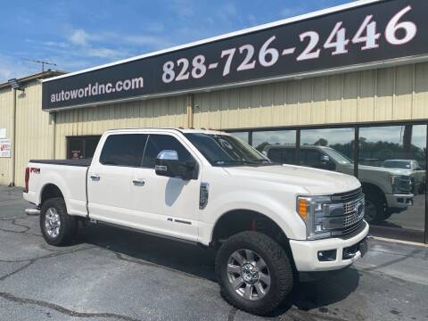 2017 Ford F-350 Super Duty for sale at AutoWorld of Lenoir in Lenoir NC