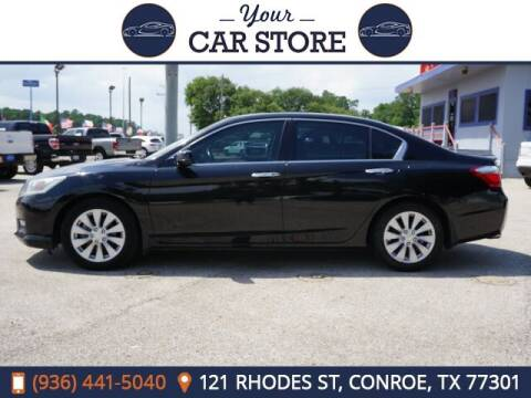 2014 Honda Accord for sale at Your Car Store in Conroe TX