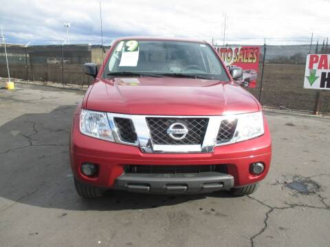 2019 Nissan Frontier for sale at Quick Auto Sales in Modesto CA