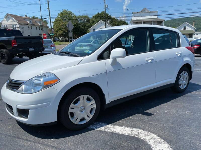2010 Nissan Versa for sale at C Pizzano Auto Sales in Wyoming PA