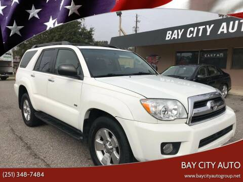 2007 Toyota 4Runner for sale at Bay City Auto's in Mobile AL