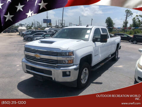 2017 Chevrolet Silverado 2500HD for sale at Outdoor Recreation World Inc. in Panama City FL