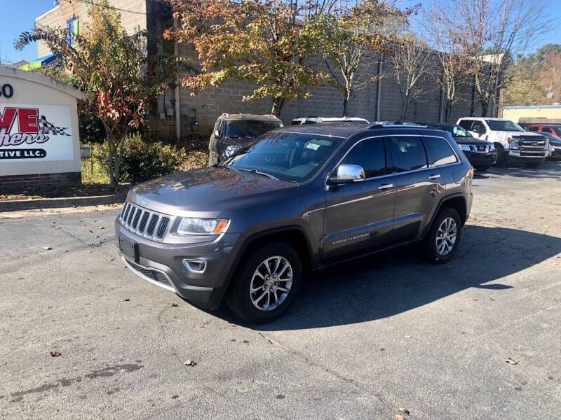 2015 Jeep Grand Cherokee for sale at Five Brothers Auto Sales in Roswell GA