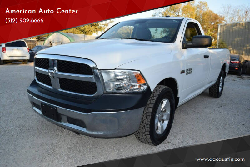 2015 RAM Ram Pickup 1500 for sale at American Auto Center in Austin TX