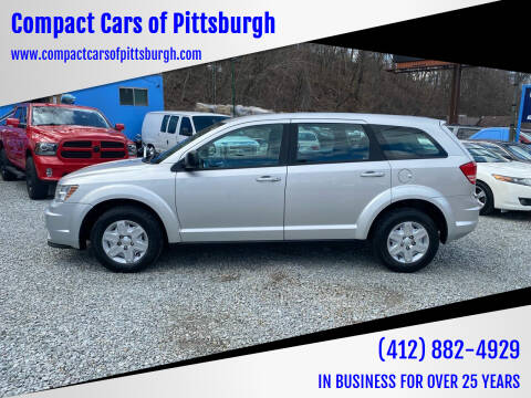 2012 Dodge Journey for sale at Compact Cars of Pittsburgh in Pittsburgh PA